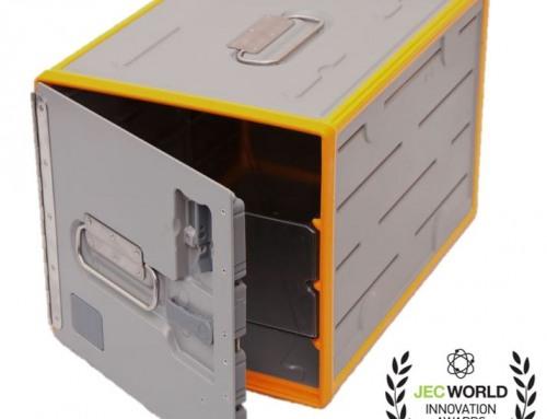 Luftfahrt Catering Standard-Unit (SU) aus recyceltem Carbonfaser verstärktem SMC in modularer Hybridbauweise