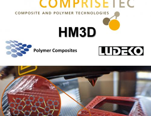 HM3D – Duromerwerkstoff für Filament-basierte 3D-Druckprozesse